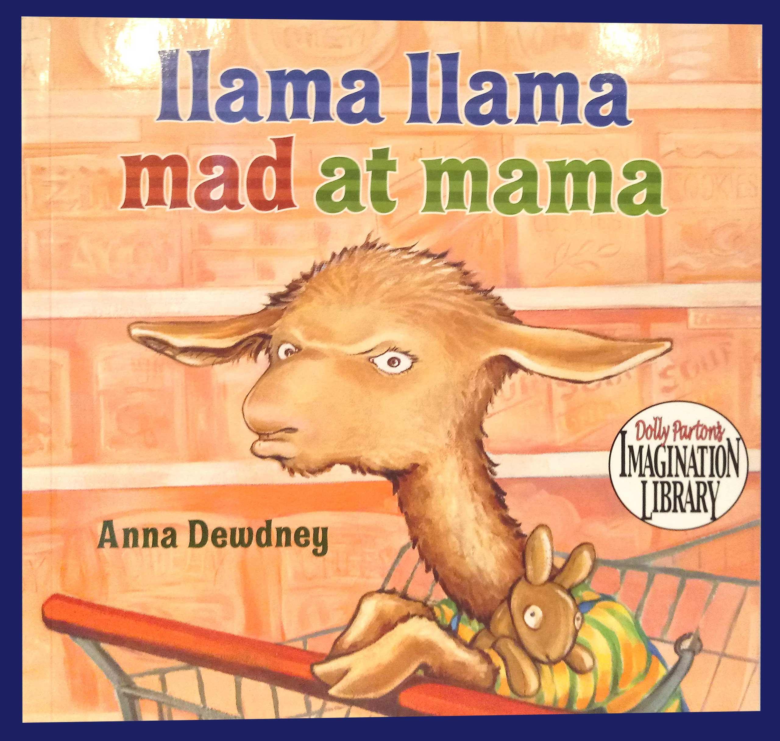 英文繪本:Llama Llama Mad at Mama 千金A發怒推薦