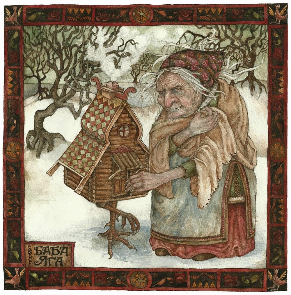 我唸繪本 Baba Yaga 芭芭雅嘎,千金A的反應是摀住耳朵