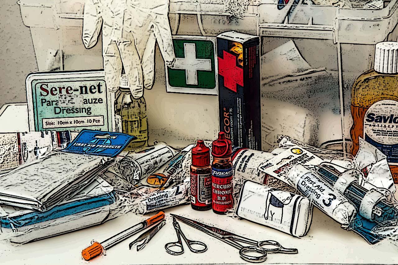 超前部署 – 家庭預備物資清單:緊急醫護