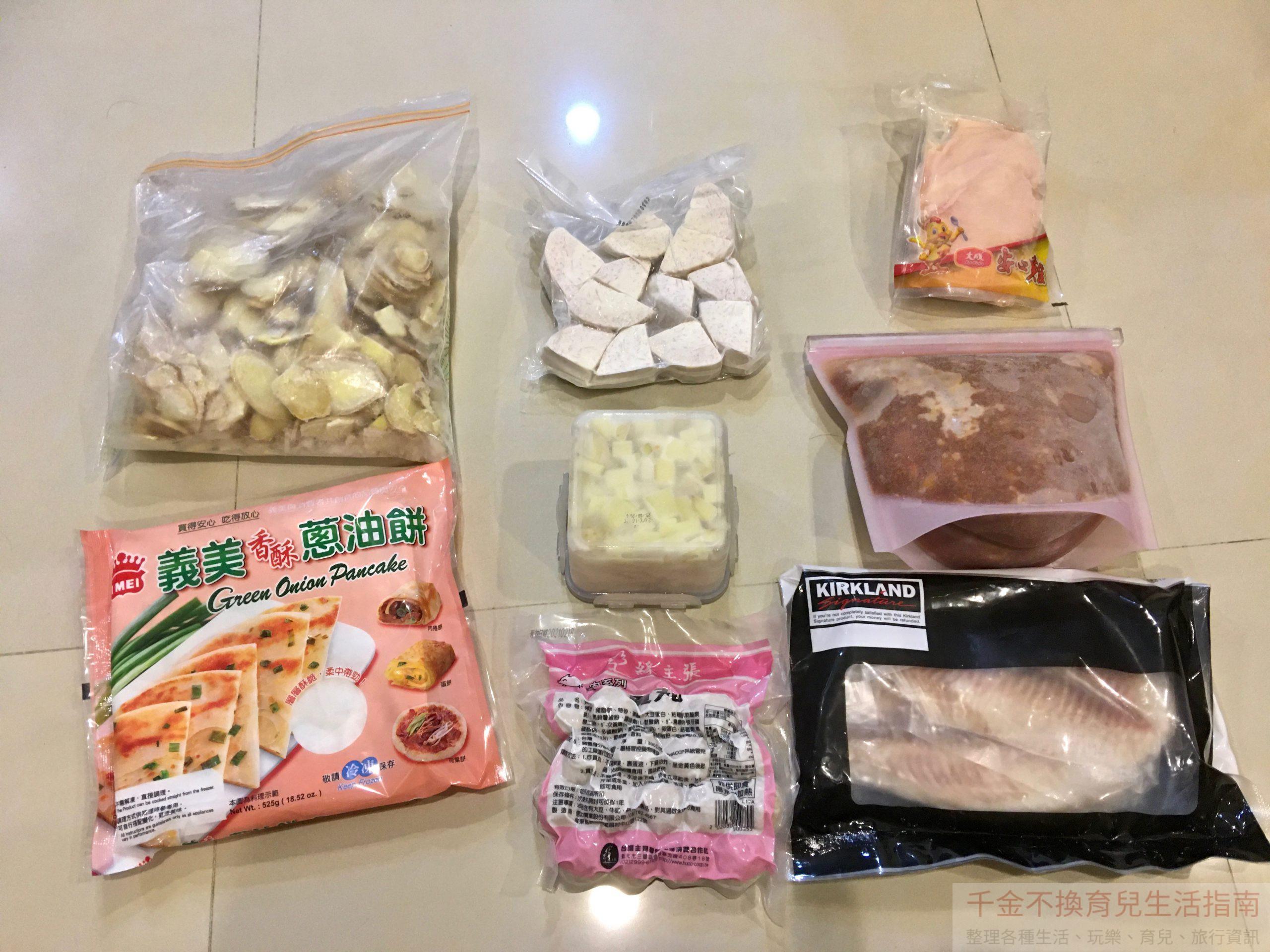 超前部署 – 家庭預備物資清單:飲食 (1) 食材