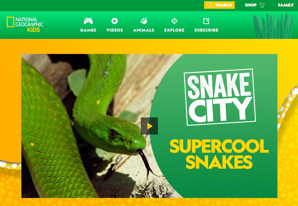 免費玩遊戲學科普:「國家地理頻道兒童版」線上網站 (National Geographic kids)