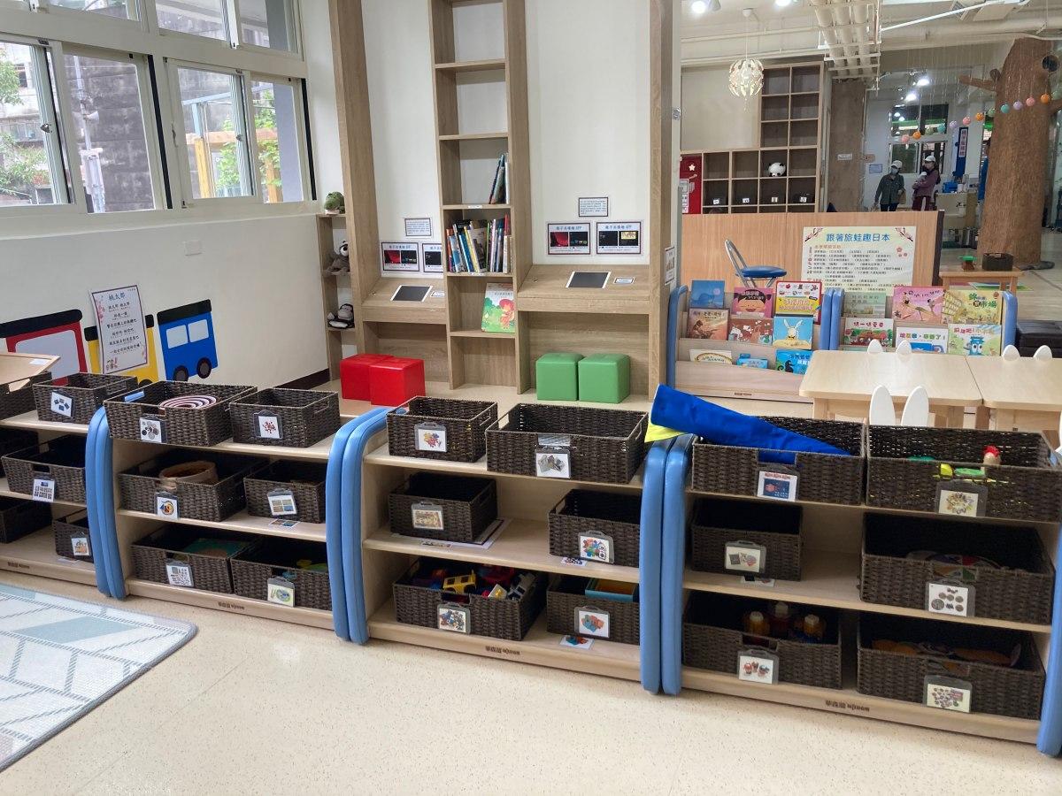 【台北免費親子景點】南港親子館:幼兒攀爬積木科學蒙特梭利空間