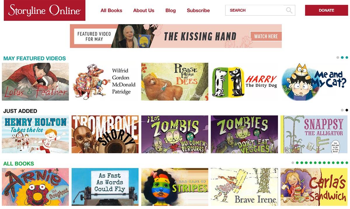 【免費語言學習】聽明星唸英文繪本說故事:Storyline Online